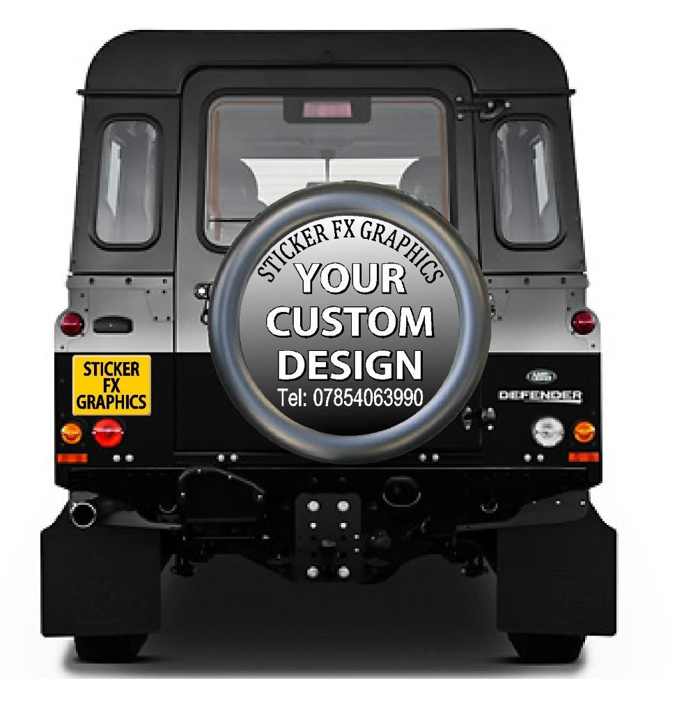 Custom design 4x4 spare wheel cover decal sticker 85949 p jpg
